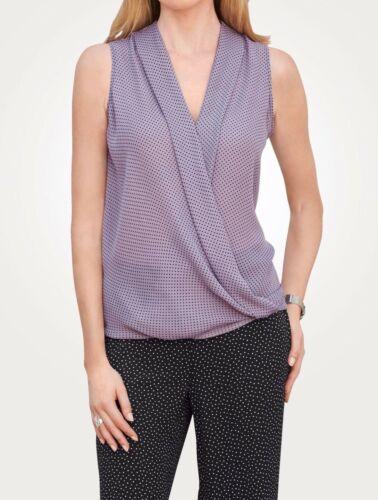 Mona Schlupfbluse in Wickeloptik NEU!! Lavendel KP 65,99 € SALE/%/%/%
