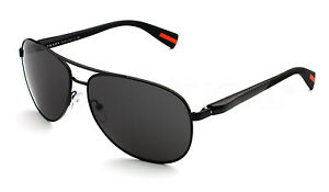 POLARIZED-New-PRADA-NETEX-Mens-Aviator-Pilot-Sunglasses-PS-51OS-1BO-5Z1-SPS-51O