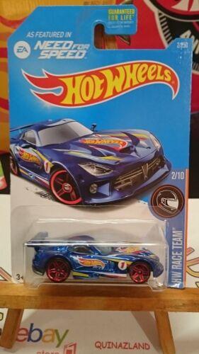 hot wheels SRT Viper GTS 9992 R 2016-002 Need For Speed