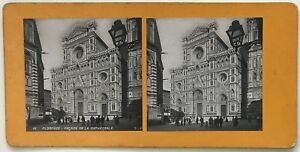 Firenze-Cattedrale-Italia-Foto-P39L9n11-Stereo-Stereoview-Vintage-Analogica