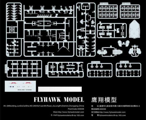 Flyhawk FH1117S 1//700 HMS Prince of Wales Dec.1941 Deluxe Edition