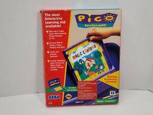 Sega-Pico-Magic-Crayons-Storyware-Game-Complete-with-Manual-CIB