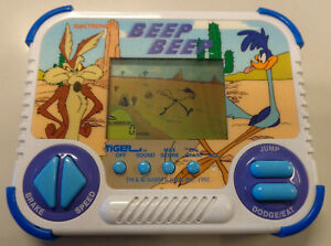 Console-Game-Gioco-Play-Watch-LCD-Tiger-Electronic-1992-Action-Beep-Beep