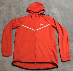 Icon Hommes Blanc Windrunner Aq0823 Rouge Knit Sweat Tech capuche Moyenne Nike à M 634 Habanero wqTxZ