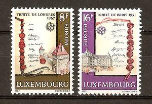Luxemburgo-Luxemburg-1982-Europa-MNH
