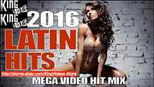 NEW 2016 Latin Hits 60+ Music Videos - 2 DVDs! Salsa Merengue Bachata Reggaeton