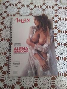 Alena Seredova Calendario.Dettagli Su Max Calendario 2005 Alena Seredova