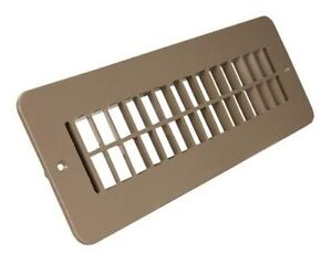 Motorhome Floor Heating Register Without Damper Rv Floor