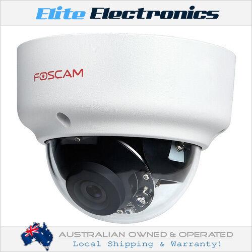 FOSCAM FI9961EP 2.0MP 1080P FULL HD POE WATERPROOF MINI-DOME IP CAMERA