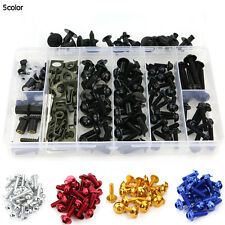 Yamaha Tmax500 2010-2011 CNC Fairing Bolt Kit Bodywork Screws Fasteners Black