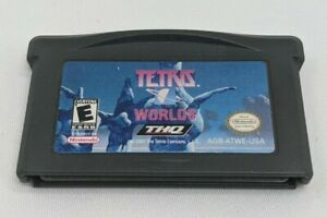 Tetris Worlds Nintendo Game Boy Advance GBA Authentic Cart Only Tested