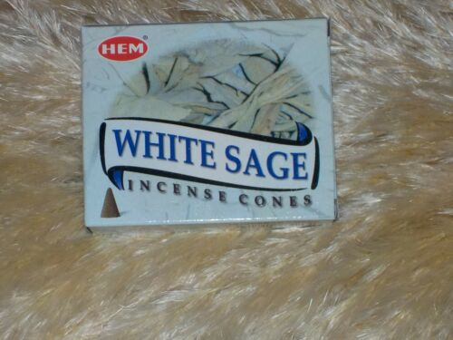 1 PORTE ENCENS NEUF ♥ ♥ ENCENS HEM 10 CONES SAUGE BLANCHE WHITE SAGE