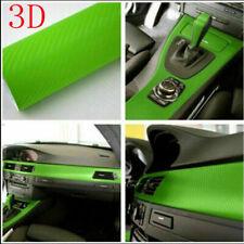 3d Carbon Fiber Vinyl Car Diy Wrap Sheet Roll Film Sticker Decal Paper 20x 50