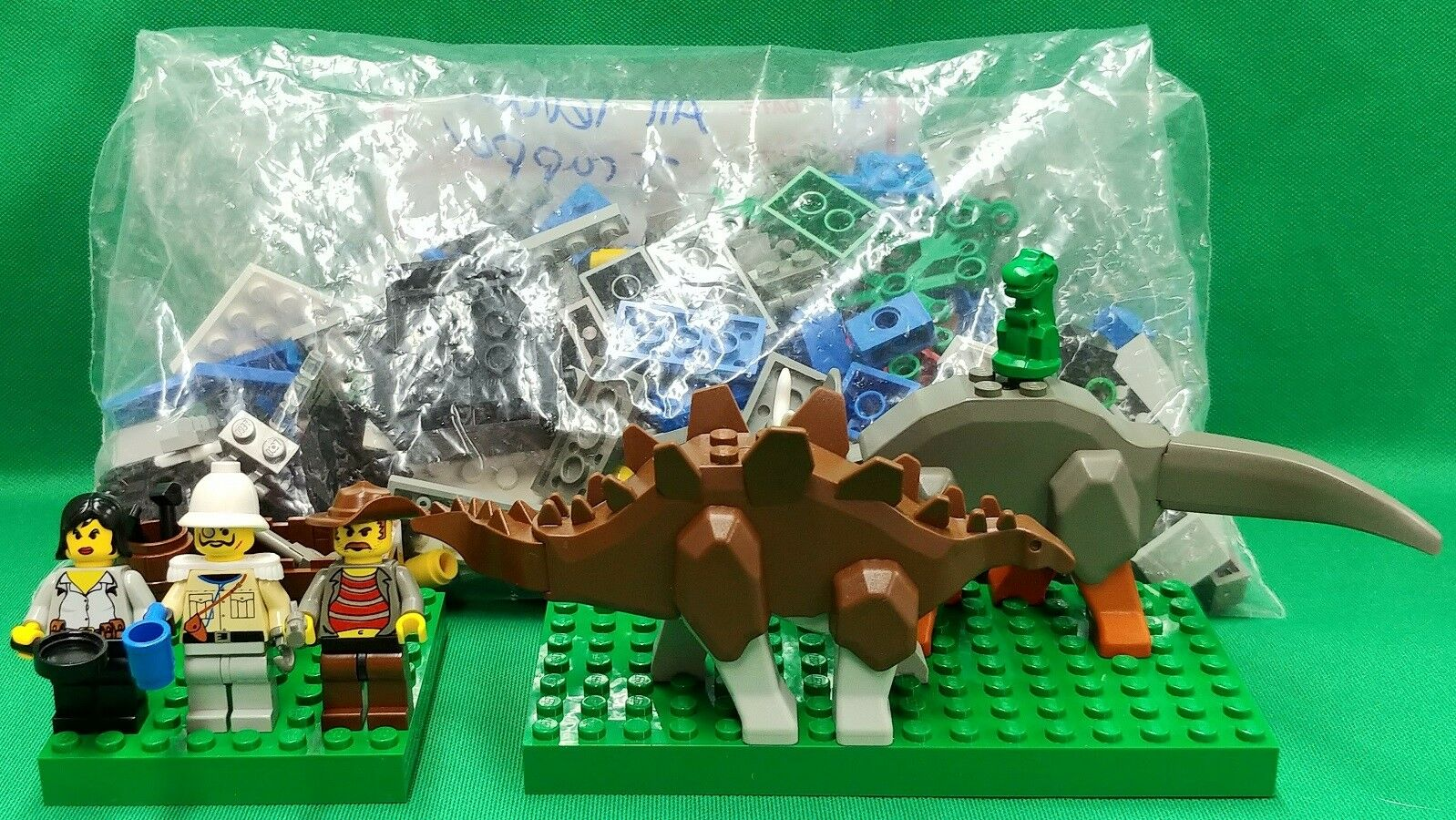 Lego Mixed Dinosaur Sets 5921 5934 5935 No Boxes or Booklets