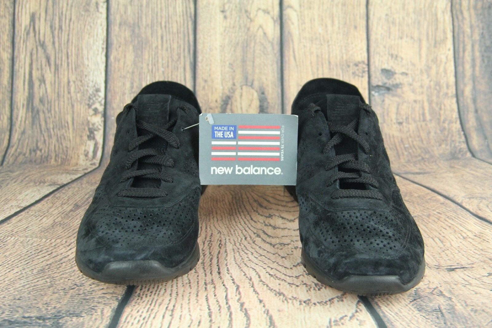 New Balance 1978 Men Winter Peaks Pack Triple Black ML1978AK SZ 11.5 Made in USA