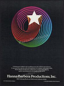 HANNA-BARBERA Productions_Logo__Original 1979 Trade print AD / poster__SAUL BASS