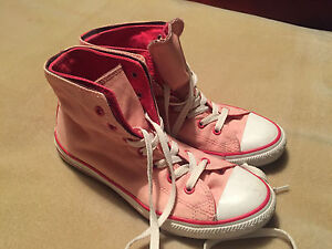 Converse Tops Hi Double Kid's All Size Pink Women's Skin stivali Trainers Star 4 5a80q