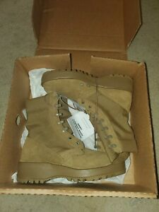 NEW!  Rocky Men's Hot Weather Army Combat Boots Coyote 798 Tan 6.5R K9