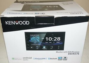 """New Kenwood DDX57S 6.8"""" Digital Media Receiver w/Apple CarPlay and Android Auto"""