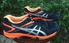 Asics Gel 1150V Volleyball Sneakers Neon Orange Black Women's Sz 9