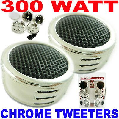 Hot SoundXtreme 500 Watt Car Audio Tweeters Built-in Crossovers Amp Speakers
