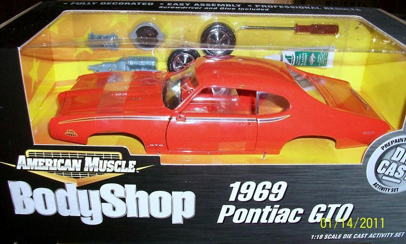 1969 pontiac gto richter karussell Orange kit 18 ertl amerikanische power 36520