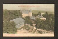 RANDAN (63) ORANGERIE , SERRE , CHAPELLE & CHATEAU en vue aérienne 1904
