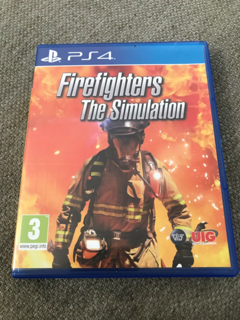 Firefighters The Simulation, PS4, simulation, Da min søn…