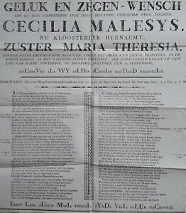 Poperinge 1819 gasthuiszusters Malesys ZELDZAAM