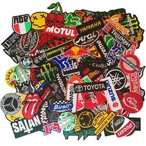 Wholesale lot Badge Patch Iron Sew Embroidered Various Mix Brand Not Duplicate