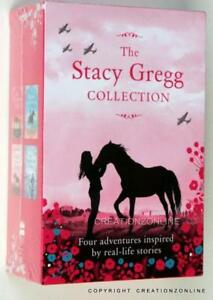 THE-STACY-GREGG-COLLECTION-4-BOOK-BOXED-SET-PRINCESS-FOAL-HORSES-THUNDERBOLT