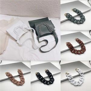 1PC-Acrylic-Resin-Replacement-Shoulder-Bag-Strap-Detachable-Chain-Belt-30cm-41cm