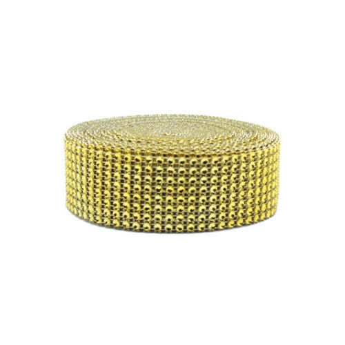 10Yards 8Rows Diamond Mesh Wrap Roll Rhinestone Crystal Ribbons Party Decoration