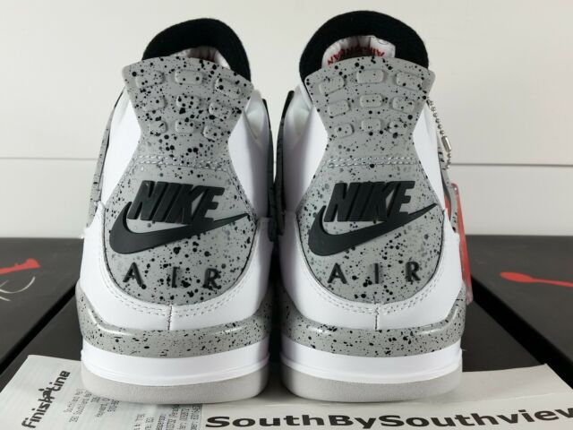 newest feb26 991a4 Nike Air Jordan 4 White Cement Size 11 With Receipt IV Grey OG 2016 840606-