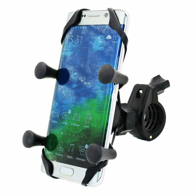 MOTOPOWER MP0609B Bike Motorcycle Cell Phone Mount Holder- For any Smartphone &
