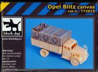 Blackdog Models 1/72 Canvas Top For The Opel Blitz Truck Resin Detail Set