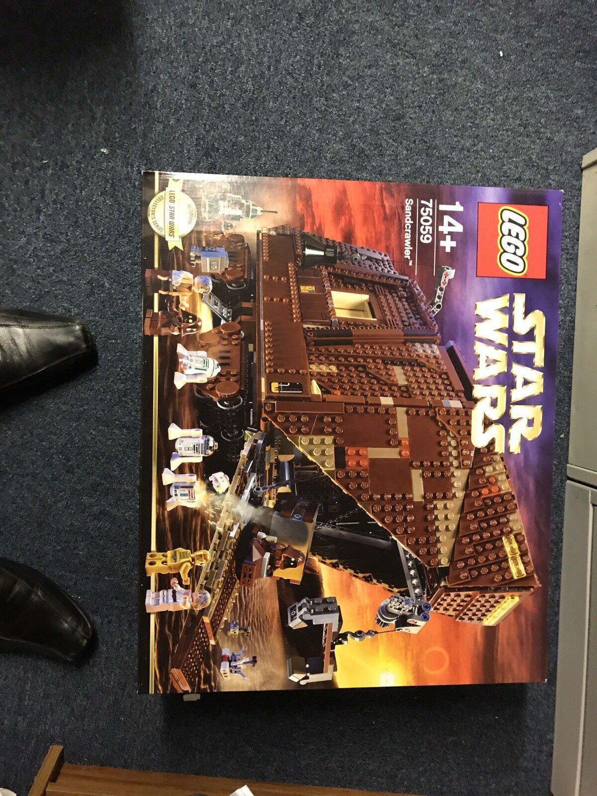 LEGO STAR WARS UCS-Sandcrawler 75059-RITIRATO-NUOVO CON SCATOLA
