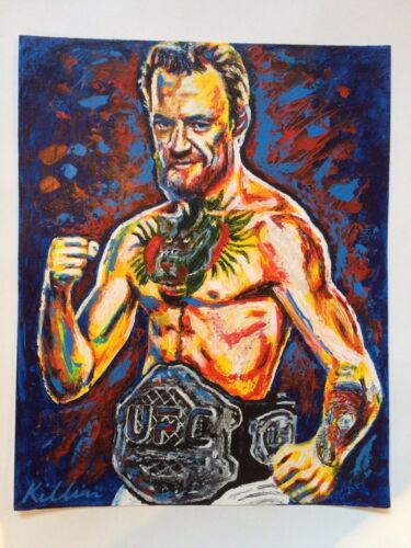 Conor McGregor Canvas Art Print Limited Edition only 88 Killian Art