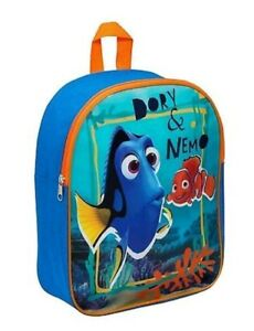 1d1b22c112a DISNEY FINDING NEMO DORY   NEMO JUNIOR KIDS BACKPACK SCHOOL BAG ...