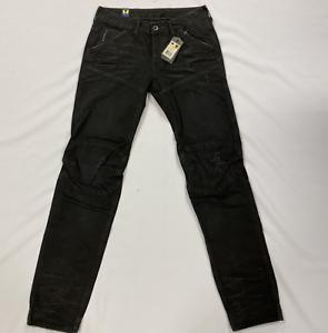 G-Star Hunter 3d Low Tapered Schwarz Used-Jeans Herren Größe UK w28 l34 * ref135