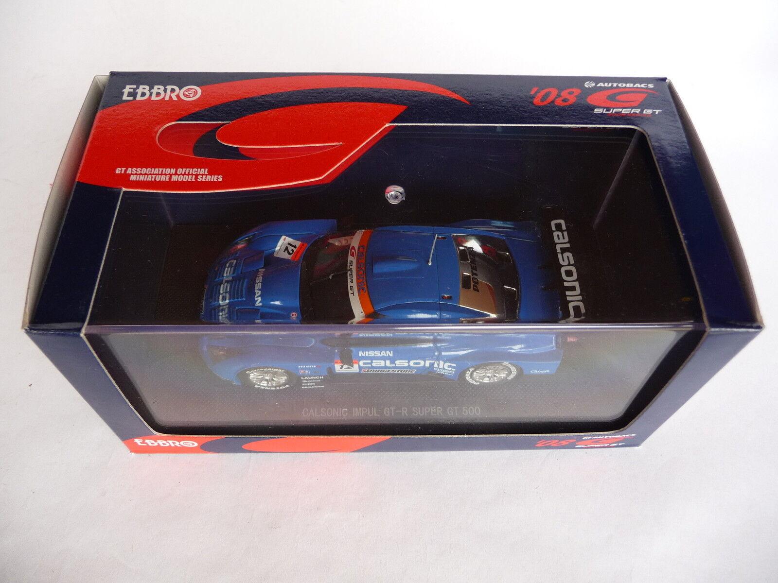 Ebbro 1 43 Nissan Calsonic Impul GT-R SGT 2008 EB44045