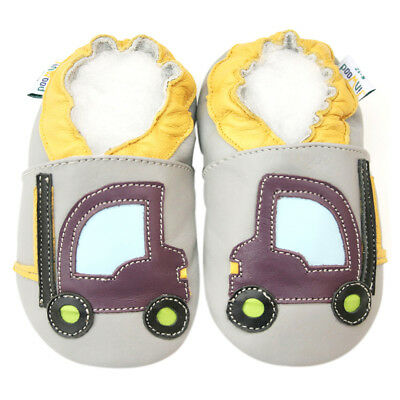 Freeship Littleoneshoes Gift Soft Sole Leather Baby Shoes Infant Boy Girl 0-6M
