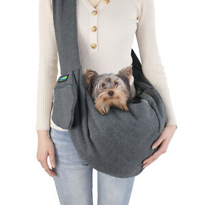 GOOPAWS-Comfy-Pet-Sling-for-Small-Dog-Cat-Hand-Free-Sling-Bag