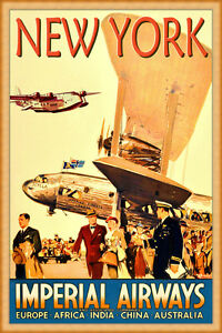 New-York-Imperial-Airways-New-Retro-Poster-Art-Deco-Short-Empire-Print-279