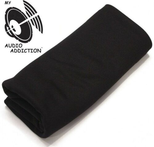 HIGH QUALITY SPEAKER GRILL CLOTH BLACK !!!!!!!!!