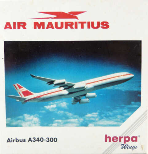 Airbus A340-300 Air Mauritius Herpa 504591 1:500