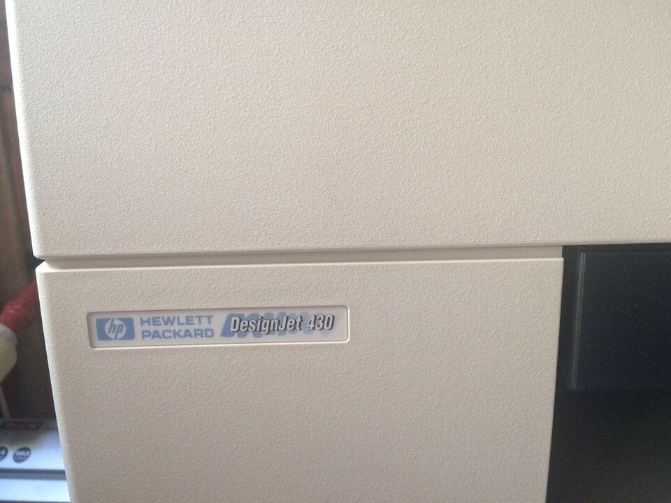 Blækprinter, Hewlett Packard, Design Jet 430
