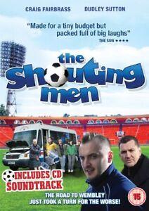The-Shouting-Men-DVD-amp-CD-DVD-New-Steve-Kelly-Craig-Fairbrass-Dudley-Sutton