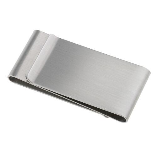 Geldscheinklammer aus rostfreiem Stahl Kreditkarteninhaber-Geldbörsenclips