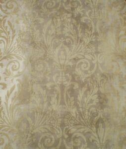 brown on brown damask wallpaper - photo #10